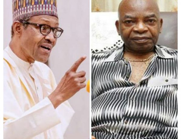 DON'T FIGHT A MAN UNDER GRACE: Go And Reconcile With Obiano – Buhari To Arthur Eze .