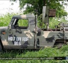 Boko Haram Displays Custom-Made Innoson Company's Military Vehicle, Ammunition Captured From Nigerian Soldiers.